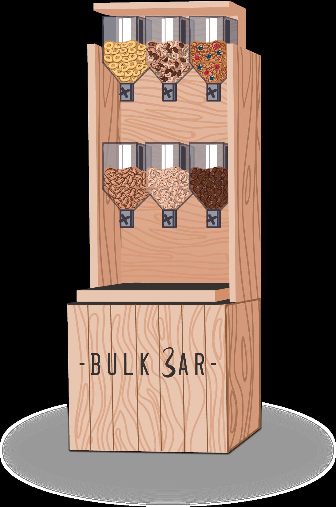 Le distributeur de snack sains BulkBar
